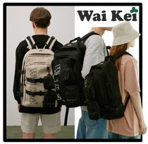 Wai Kei(ワイケイ) バックパック・リュック ★送料・関税込★WAIKEI★Detachable Backpack★兼用