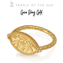 【TEMPLE OF THE SUN】Gaia Ring Gold リング ゴールド