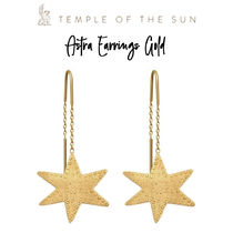 【TEMPLE OF THE SUN】Astra Earrings Gold ゴールド ピアス