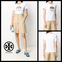 Tory Burch【関税込み】Aviation プリント TシャツR580