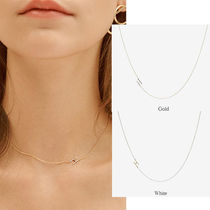 ★HEI(ヘイ)★initial combi necklace  (2colors)韓国人気