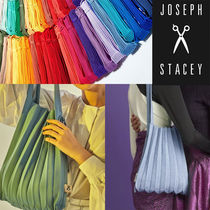 ★JOSEPH&STACEY★Lucky Pleats Knit Mバッグ(29COLORS)