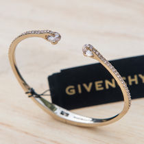 GIVENCHY★Crystal & Pave Hinged Bangle Bracelet 3色