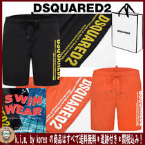 D SQUARED2/MEN'S BEACH WEAR/SIDE LOGO 5分丈