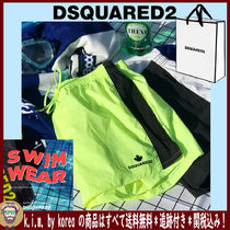 D SQUARED2/MEN'S BEACH WEAR/SIDE LINE 3分丈