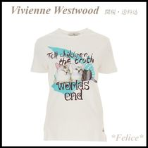 【Vivienne Westwood】キャットプリント Tシャツ 関税/送料込