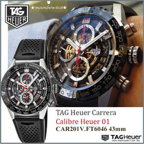 【 定番モデル★人気】Carrera Calibre Heuer 01 Automatic 43mm