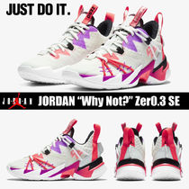 "◆NIKE◆JORDAN ""Why Not?"" ZER0.3 SE◆送料無料◆大人もOK◆"