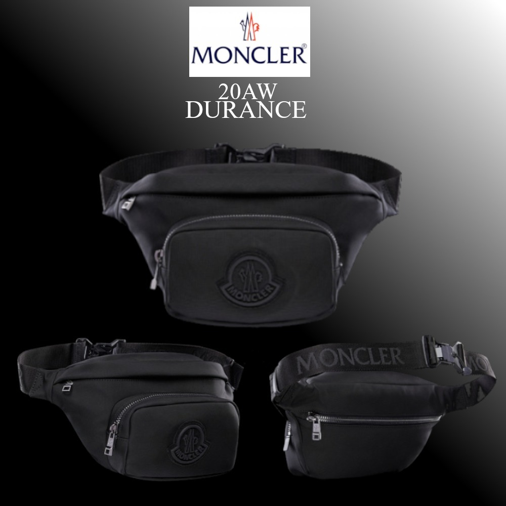 20AW 新作★MONCLER★DURANCE ウェストポーチ (MONCLER/バッグ・カバンその他) 09A5M7020002SJM999