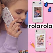 rolarola★韓国 RAINY RAINBOW DAY JELLY PHONE CASE 携帯ケース