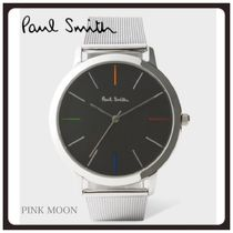 【Paul Smith】腕時計☆Stainless Steel And Black 'Ma'☆追跡込