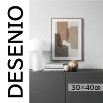 ★DESENIO★ABSTRACT COMPOSITION POSTER・30×40㎝★抽象画