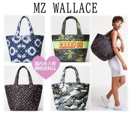 MZ WALLACE マザーズバッグ 【MZWALLACE】国内未入荷 マザーズバッグ 超軽量 トートバッグ M