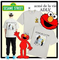 ☆acme' de la vie x SESAME STREET☆DRAWING T- SHIRT★