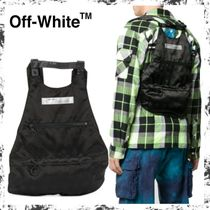 Off-White ★ロゴ バックパック