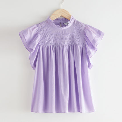 &other stories Frilled Lace Top リラ