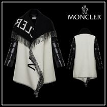 MONCLER★CAPE★ナイロン/ウール★ホワイト★2020-21AW★