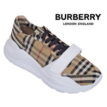 BURBERRY スニーカー チェック 8020282-A7026_ARCHIVE_BEIGE