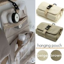 depound★韓国★hanging pouch (beige/brown) コスメポーチ