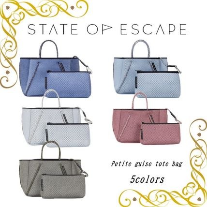 State of Escape マザーズバッグ 【State of Escape】プチGUISE 2way ショルダー トート【5色】