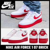 【NIKE】海外限定!AIR FORCE 1 07 BRICK