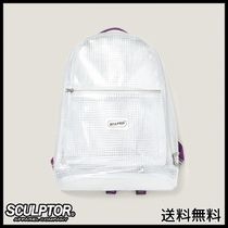 [SCULPTOR] PVC Backpack [MSS PURPLE]