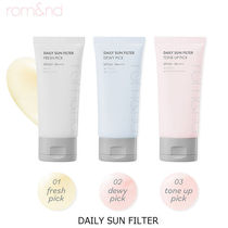 rom&nd■DAILY SUN FILTER サンクリーム3種