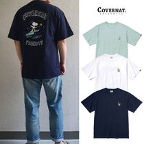 ★COVERNAT★ C2012ST03 CXPEANUTS 70th SURFING SNOOPY TEE