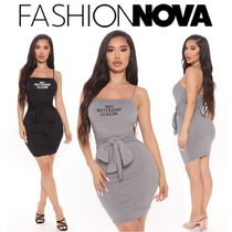 "【Fashion Nova】""Not Boyfriend Season"" ミニワンピース"