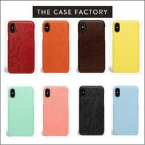 THE CASE FACTORY IPHONE X/XS  8色 イニシャル入れ可能!