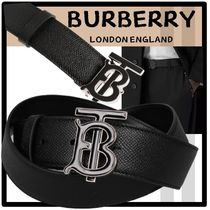 ★送料・関税込★BURBERRY★Monogram Leather Belt★ベルト