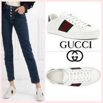 [GUCCI] Ace Leather Sneaker