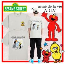 ☆acme' de la vie x SESAME STREET☆DRAWING T- SHIRT☆