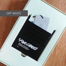 """OFF WHITE """"FOR CARDS"""" カードケース"""