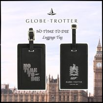 GLOBE-TROTTER NO TIME TO DIE ラゲッジネームタグ ブラック