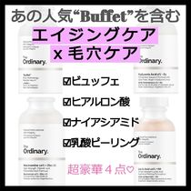【The Ordinary】あのBuffetを含むエイジングケアx毛穴ニキビ跡
