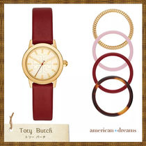 SALE! Tory Burch 着せ替え腕時計 RED