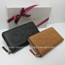 JIMMY CHOO★セール★BETTINA GRAINY LEATHER長財布★即発送可♪