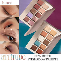hince■NEW DEPTH EYE SHADOW PALETTE アイシャドウパレット