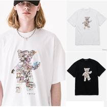 【VASTIC】Teddy Bear Collage T-Shirt ★ジェジュン 着用★