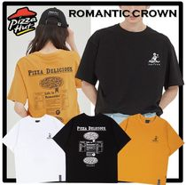 ☆送料・関税込☆ROMANTIC CROWN x PIZZAHUT★PIZZA POSTER TEE