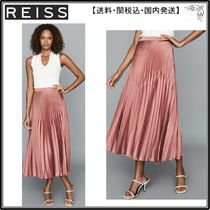 【海外限定】REISS スカート☆DORA PLEATED MIDI SKIRT