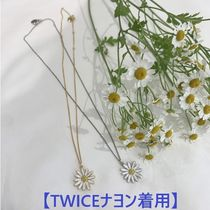 【TWICEナヨン着用】Vintage Daisy Necklace 2色