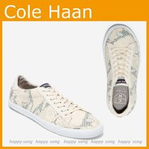 Cole Haan◆CARRIE スニーカー スネークパイソン柄