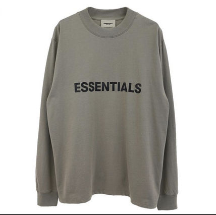 FEAR OF GOD Tシャツ・カットソー 【即日発送可能】Essentials Fear of god 2020SS 3D logo LS Tee(2)