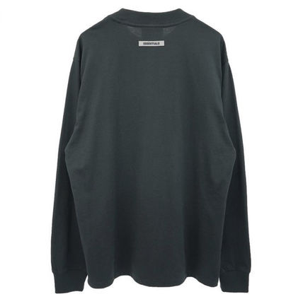 FEAR OF GOD Tシャツ・カットソー 【即日発送可能】Essentials Fear of god 2020SS 3D logo LS Tee(5)
