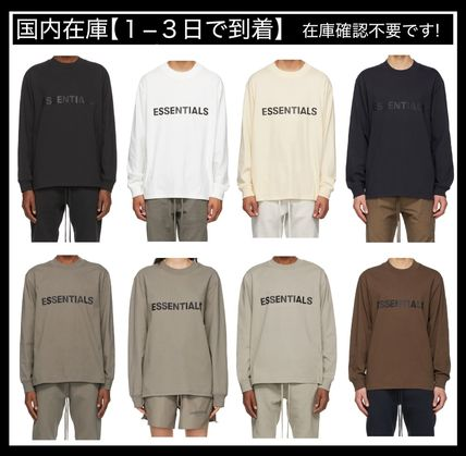 FEAR OF GOD Tシャツ・カットソー Essentials 長袖 Tシャツ ロンT a-36