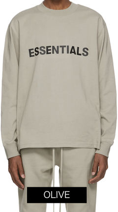 FEAR OF GOD Tシャツ・カットソー Essentials 長袖 Tシャツ ロンT a-36(15)