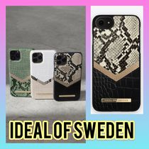 iDEAL OF SWEDEN(アイディール) iPhone・スマホケース iDEAL OF SWEDEN☆クロコ柄マルチデザイン☆iPhoneスマホケース