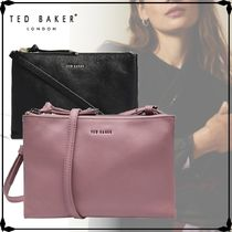 TED BAKER★DANII Double pouch leather cross body bag★2色